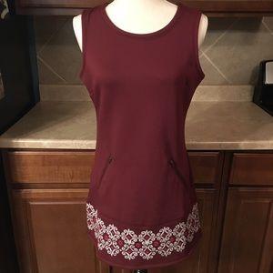 Athleta sleeveless sweater dress size small